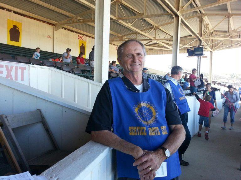 Gary Merrell at the Delaware County Fair on September 21st 2015