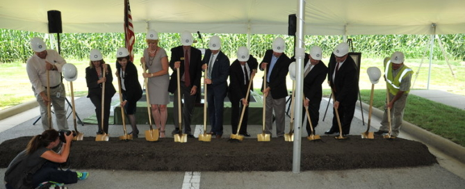 Sawmill Parkway Expansion Project Groundbreaking